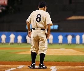 Yogi Berra Yankee Stadium 2008