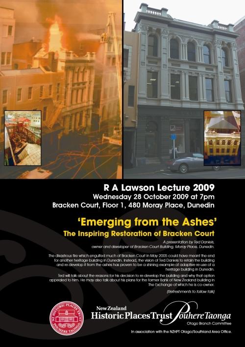 RA Lawson Lecture 2009