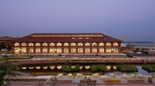 Urban Outfitters Corporate Campus, Philadelphia's Navy Yard (2006) - Lara Swimmer Photography