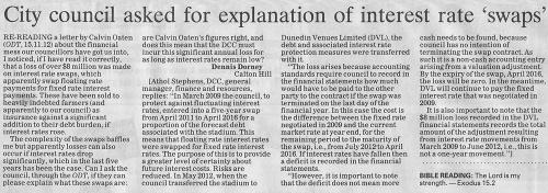 ODT 30-11-12 Letter to the editor Dennis Dorney (2)