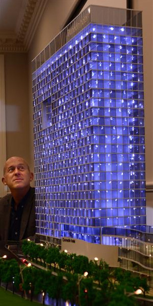 Proposed hotel (model) ODT 2.12.12