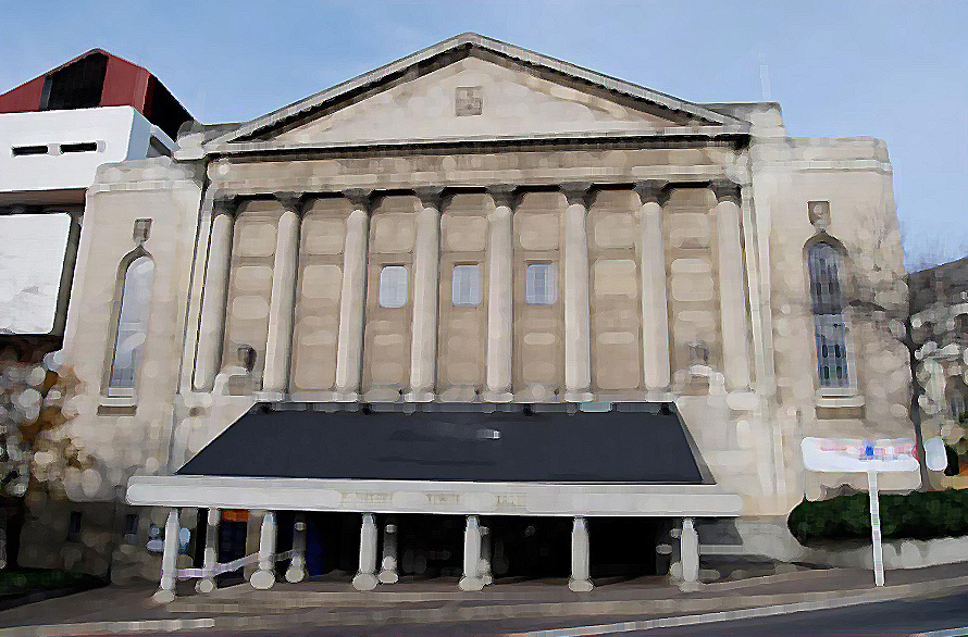 Town Hall Dunedin Centre Municipal Chambers linked