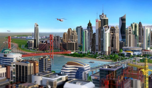 New SimCity via stuff.co.nz