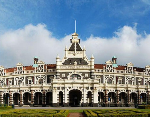 Dunedin Railway Station (nakedbus.com) screenshot
