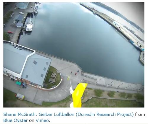 Shane McGrath Blue Oyster (ballon video) 15-4-13 screenshot arl