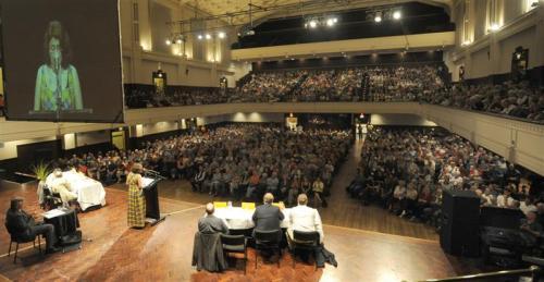 Town Hall Sukhi Turner addresses meeting (odt.co.nz)