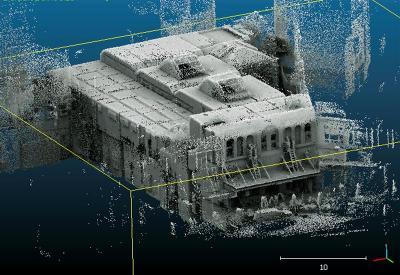 3D laser map Athenaeum [odt.co.nz]