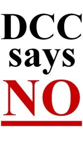 DCC says NO
