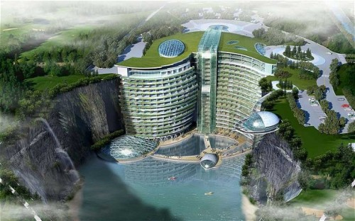 InterContinental Hotel [HAP-Quirky China News - Rex Features]