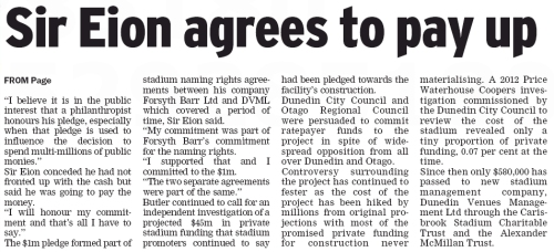 Queenstown Mirror 10.7.13 (page 2 detail)