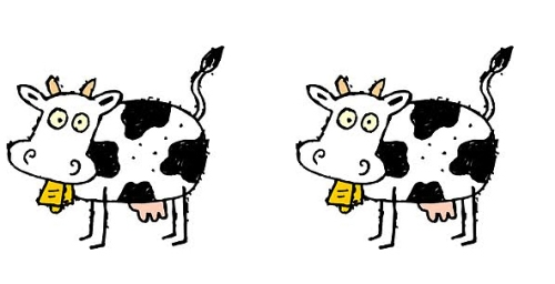 Two cows (crop)