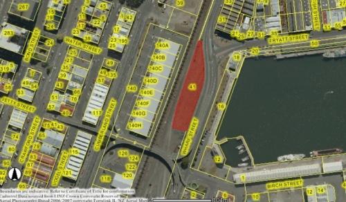 41 Wharf Street, Dunedin 1 (DCC WebMap)