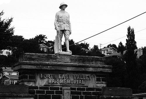 North East Valley war memorial [flickriver.com] 1