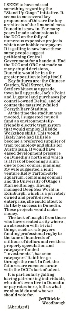 ODT 13.8.13 Stand Up Otago page 8