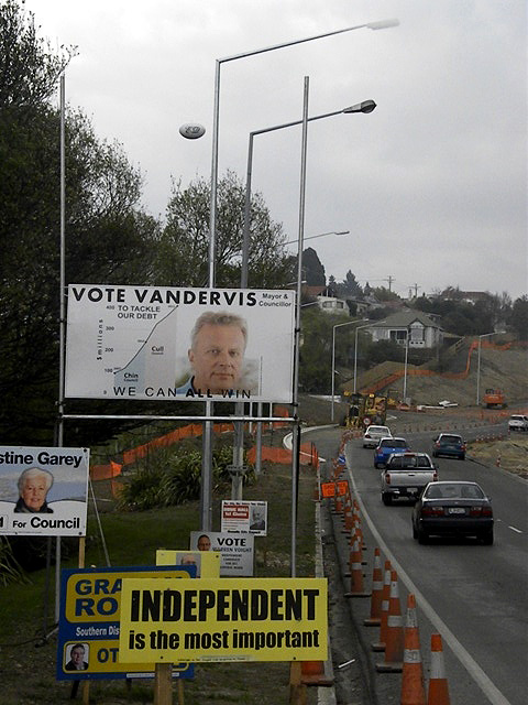 Election hoardings 1