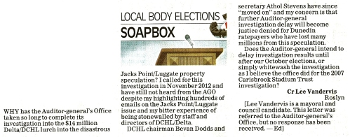ODT 11.9.13 Letter to the editor (page 14)