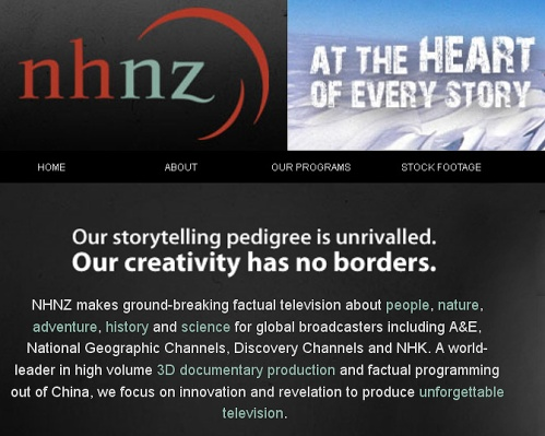 NHNZ website (detail)