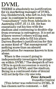 ODT 21.12.13 Letter to editor (page 34)