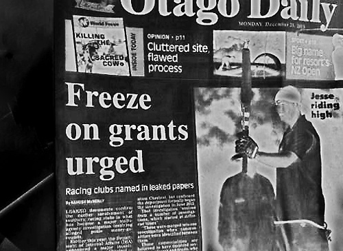 ODT 23.12.13 Freeze on grants urged (page 1) 2