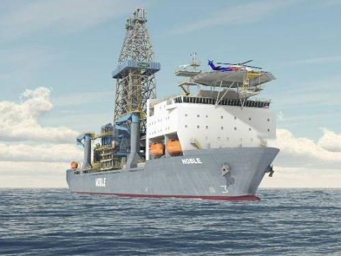 Anadarko hires drillship Noble Bob Douglas under construction at HHI