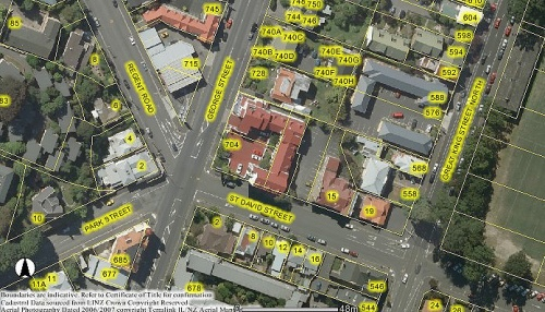 DCC Webmap - 715 George Street