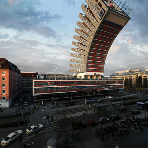 Building design what if dunedin for Hotel design munich