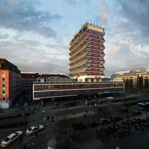 Deutscher Kaiser hotel, Munich - image by Victor Enrich [dezeen.com] 7a
