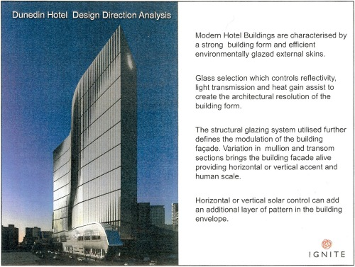 Dunedin Hotel Design Direction Analysis p2