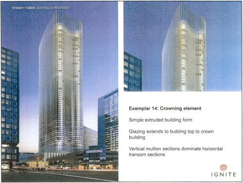 Exemplar 14 Crowning element - Sydney Tower proposed p20