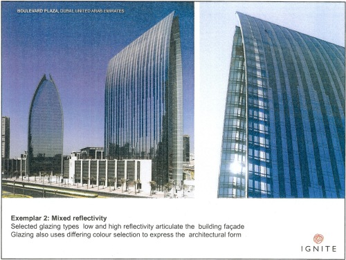 Exemplar 2 Mixed reflectivity - Boulevard Plaza, Dubai p4
