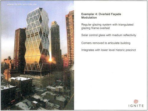 Exemplar 4 Overlaid facade modulation - Hearst Tower, New York p7