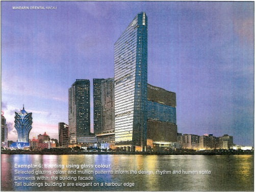 Exemplar 6 Banding using glass colour - Mandarin Oriental, Macau p10