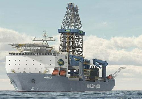 Noble Bob Douglad drill ship 1