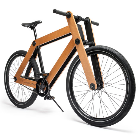 Sandwichbike by Pedal Factory [dezeen.com]