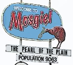 Pearl of the Plain (Mosgiel sign) 3