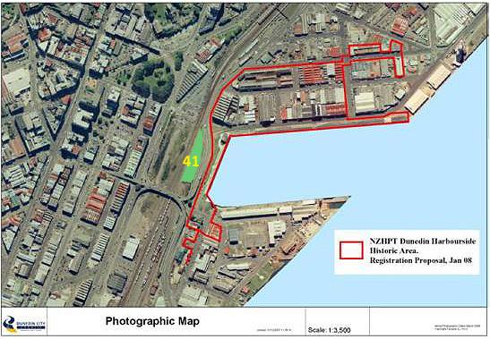 Dunedin Harbourside English Heritage on portside development What
