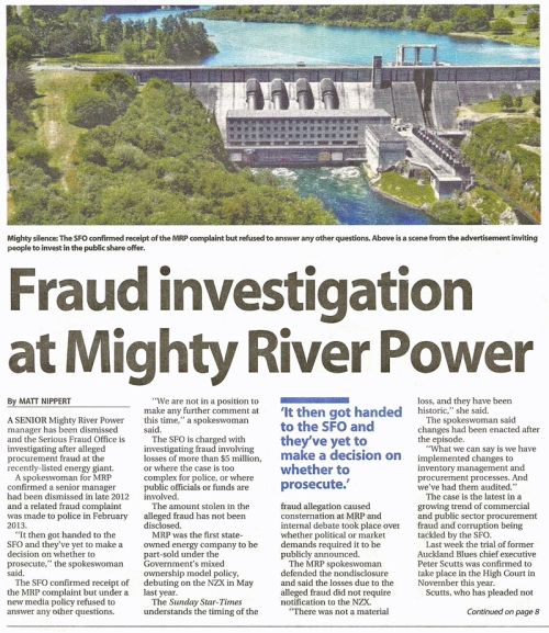 SST Business 30.3.14 (page D1) Fraud at Mighty River Power (1)