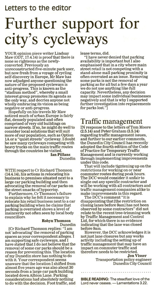 ODT 7.5.14 Letters to the editor (page 14)