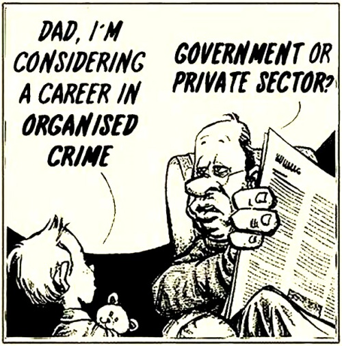 Organised crime (via Patriot Hawgrider @dale42860)