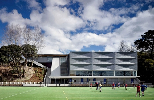 Patrick Clifford (Architectus) Saint Kentigern's School, Jubilee sports centre, Auckland (2009) 1