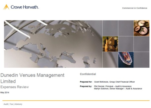 Crowe Horwath report cover (May 2014)