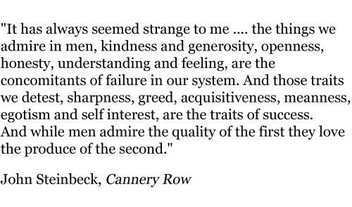 John Steinbeck, Cannery Row (1)