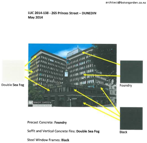 John Wickliffe House proposed paint colours (1)
