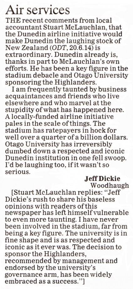 ODT 1.7.14 Letter to editor Dickie p8