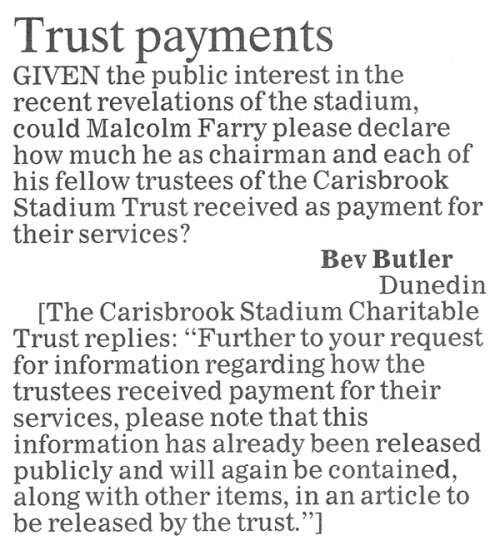 ODT 18.7.14 Letter to the editor Butler p16