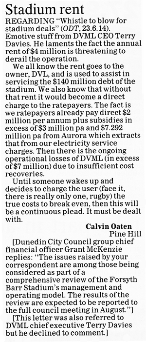 ODT 9.7.14 Letter to the editor Oaten p14