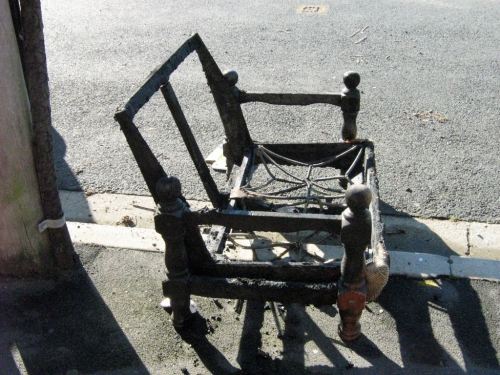 A Traditionally Burnt-out Couch