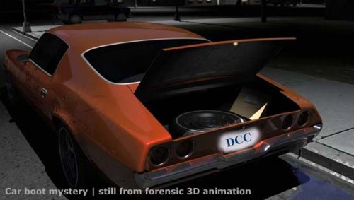 Crime scene - forensic animation 09 - Tim McGarvey [tmba.tv] 11