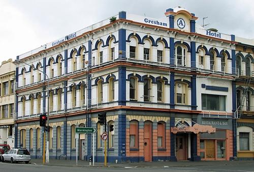 Gresham Hotel, former
