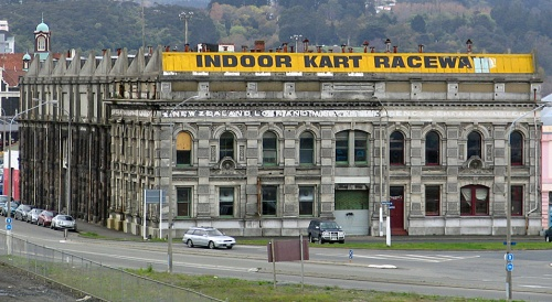 NZ Loan and Mercantile Agency building, Dunedin [wikimedia.org] 1 detail